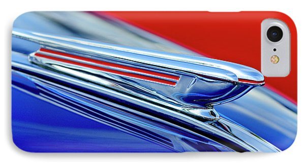 1938 Chevrolet Hood Ornament 2 Phone Case by Jill Reger