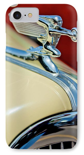 1940 Packard Hood Ornament Phone Case by Jill Reger