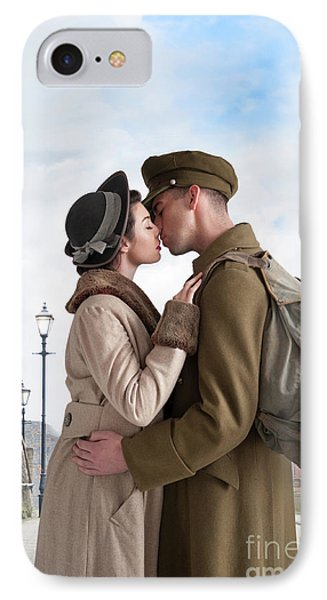 1940s Lovers IPhone Case