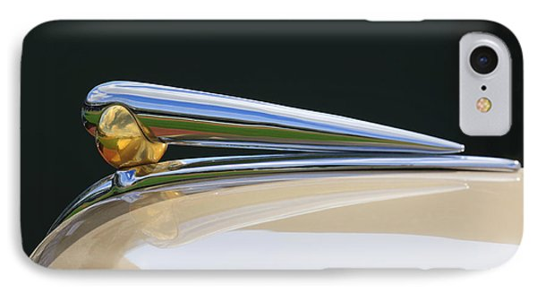 1941 Lincoln Continental Hood Ornament 2 Phone Case by Jill Reger