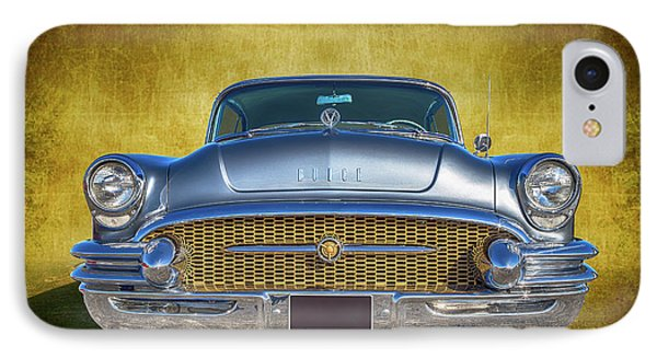 1955 Buick IPhone Case by Keith Hawley