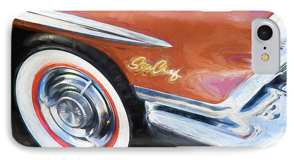 IPhone Case featuring the photograph 1958 Pontiac Star Chief  by Rich Franco