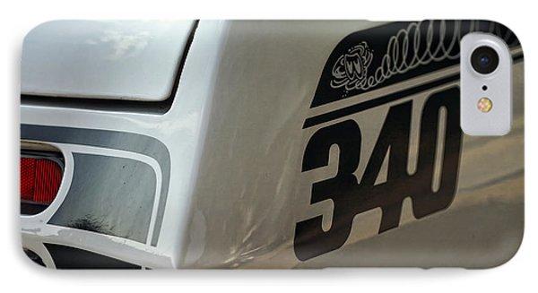 1971 Plymouth Duster 340 Phone Case by Gordon Dean II