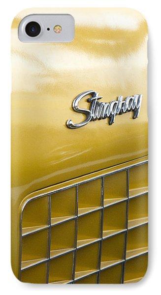 1972 Chevrolet Corvette Stingray Emblem Phone Case by Jill Reger