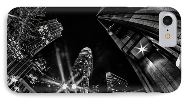 1st January, 2014, Charlotte, Nc, Usa - Nightlife Around Charlot IPhone Case by Alex Grichenko