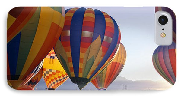 25th Albuquerque International Balloon IPhone Case by Panoramic Images