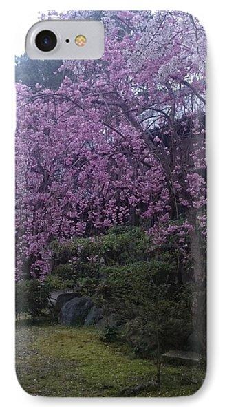 Shidarezakura Mean A Drooping Cherry Tree  IPhone Case