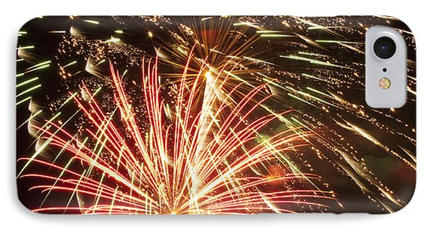 4th Of July Fireworks Phone Case by Joe Carini - Printscapes