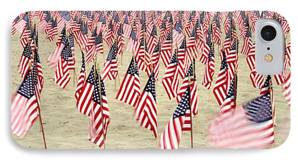 911 Tribute Flags, Pepperdine IPhone Case