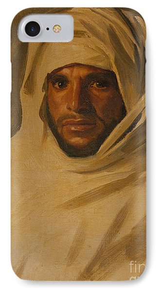 A Bedouin Arab IPhone Case by John Singer Sargent