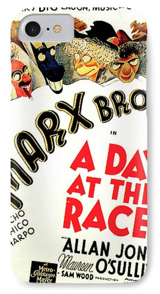 A Day At The Races 1937 IPhone Case