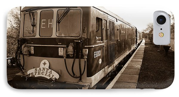 A Diesel Engine At Swindon And Cricklade Railway IPhone Case by Steven Sexton