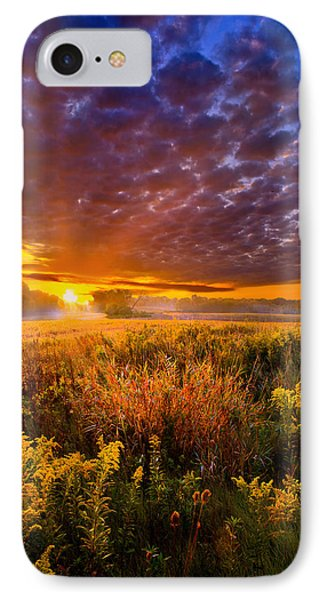 A Drifting Kiss IPhone Case by Phil Koch