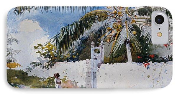 A Garden In Nassau IPhone Case
