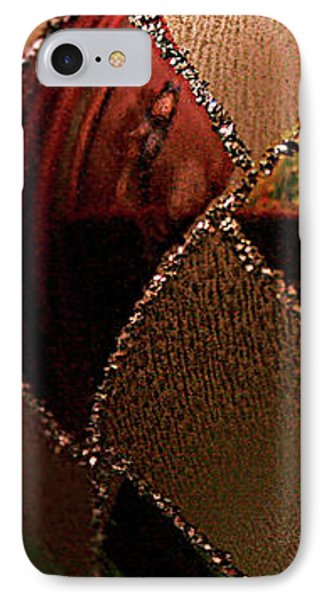 IPhone Case featuring the photograph A Photographer's Christmas Greeting by Trish Mistric