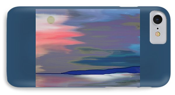 A Quiet Evening IPhone Case by Lenore Senior