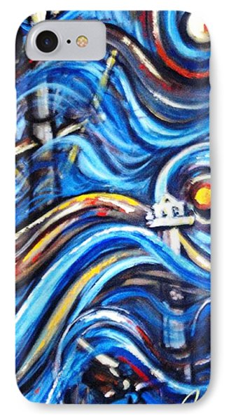 IPhone Case featuring the painting A Ray Of Hope 4 by Harsh Malik