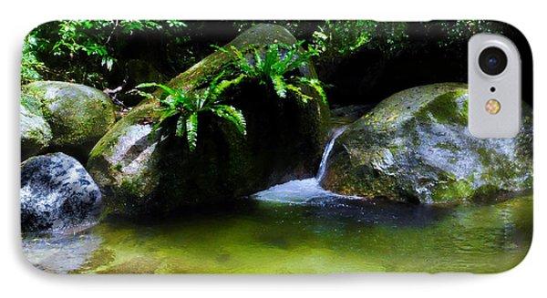 Far North Queensland iPhone 7 Case - A Secret Space - Mossman Gorge, Far North Queensland, Australia by Lexa Harpell