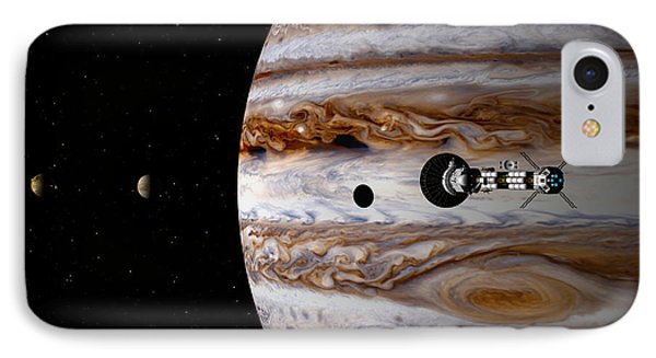A Sense Of Scale IPhone Case by David Robinson