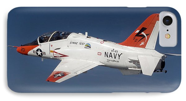 A T-45c Goshawk Training Aircraft Phone Case by Stocktrek Images