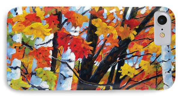 A Touch Of Canada Phone Case by Richard T Pranke