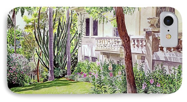Beverly Hills iPhone 7 Case - A Visit To Virginia's by David Lloyd Glover