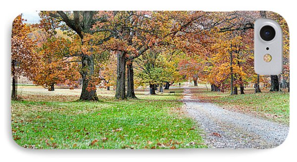 A Walk In The Park IPhone Case by Robert Culver
