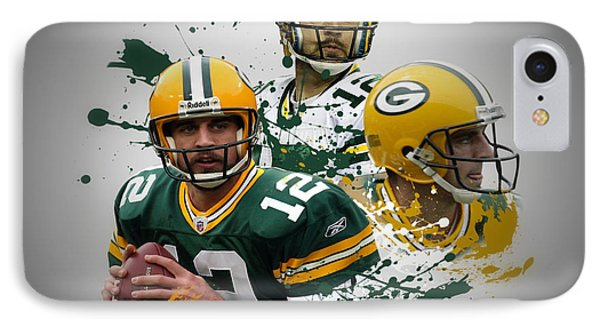Aaron Rodgers Packers Phone Case by Joe Hamilton