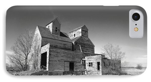 Abandoned Grain Elevator IPhone Case by Donald  Erickson