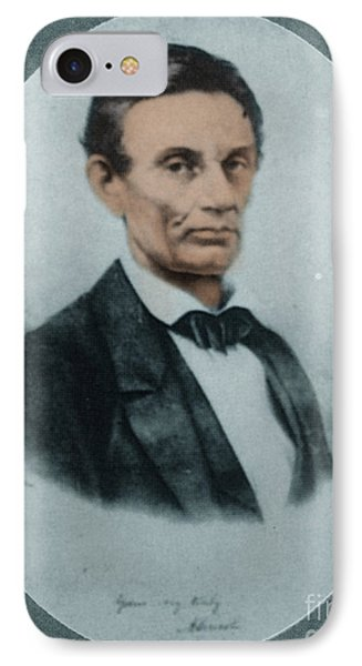 Abraham Lincoln, 16th American President IPhone Case by Science Source