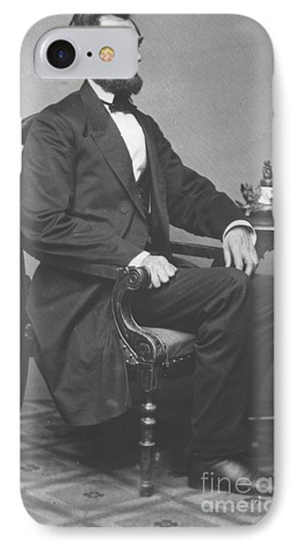 Abraham Lincoln IPhone Case by Alexander Gardner