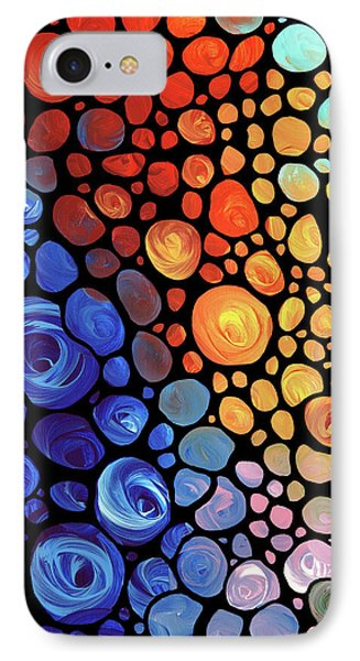 Abstract 1 IPhone Case by Sharon Cummings
