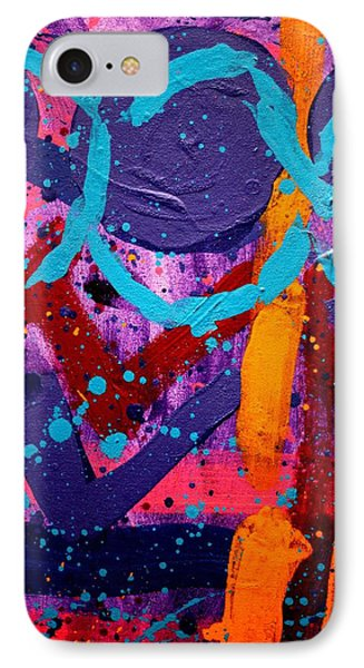 Abstract 10316 / Cropped IPhone Case by John  Nolan