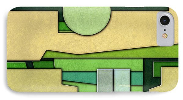 Abstract Cubist IPhone Case