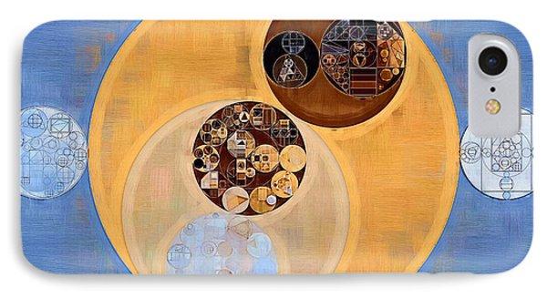 Abstract Painting - Manhattan IPhone Case by Vitaliy Gladkiy