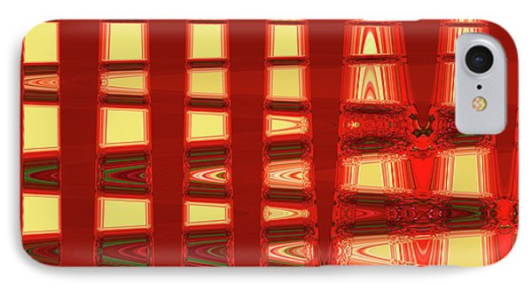 Abstract IPhone Case by Ralph Klein
