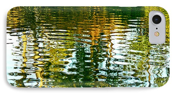 Reflections And Patterns In Nature IPhone Case by Carol F Austin