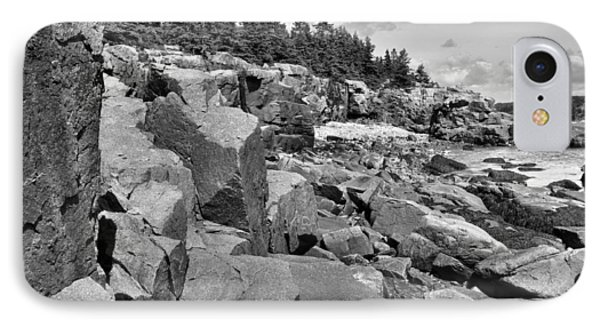 Acadia Seacoast IPhone Case by Stephen  Vecchiotti