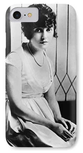 Actress Mabel Normand IPhone Case by Underwood Archives