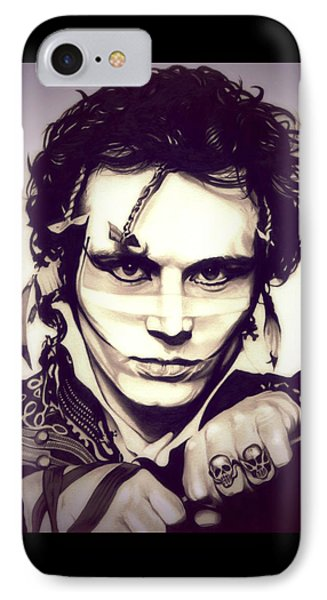Adam Ant IPhone Case by Fred Larucci