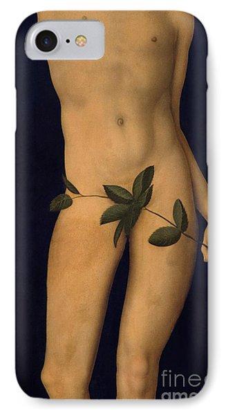 Adam IPhone Case by The Elder Lucas Cranach