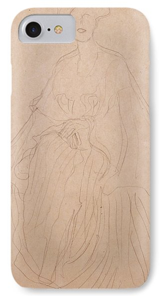 Adele Bloch Bauer IPhone 7 Case by Gustav Klimt
