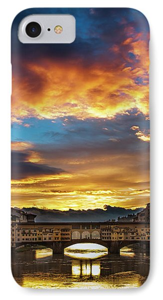 IPhone Case featuring the photograph After The Storm In Florence by Andrew Soundarajan