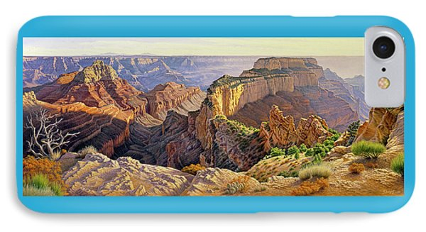Afternoon-north Rim IPhone 7 Case by Paul Krapf