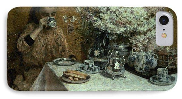 Afternoon Tea IPhone Case by Isidor Verheyden