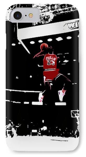 Air Jordan 1988 Slam Dunk Contest IPhone Case by Brian Reaves