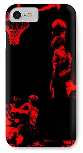 Air Jordan Glide IPhone Case by Brian Reaves