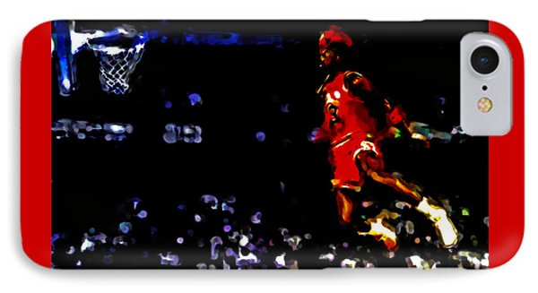 Air Jordan In Flight Iv IPhone Case by Brian Reaves