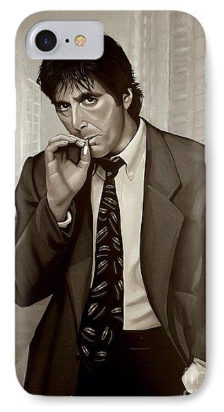 Al Pacino  IPhone Case by Meijering Manupix