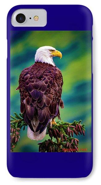 Alaska Bald Eagle IPhone Case